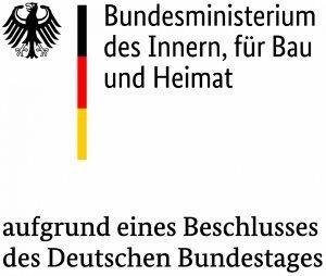 Bundesministerium des Innern, für Bau und Heimat - Logo